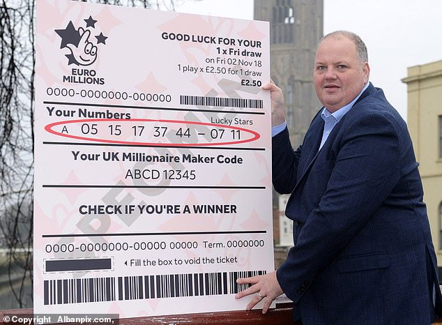 9 years imprisonment for a winner who claimed £2.5 million with his accomplice, Camelot staffer